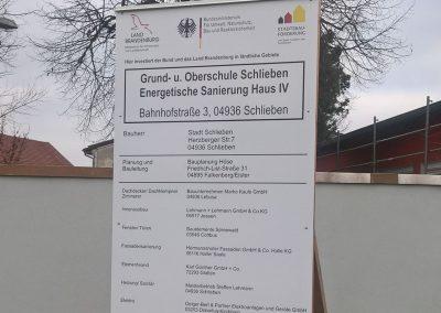 Sanierung Schule Schlieben
