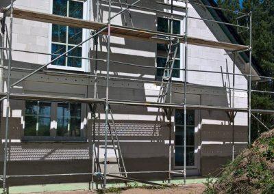 Doppelhaus Veka Fenster