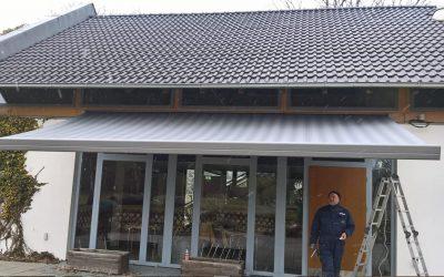 Das ParkCafé am Spreeauenpark bekommt eine neue Markise