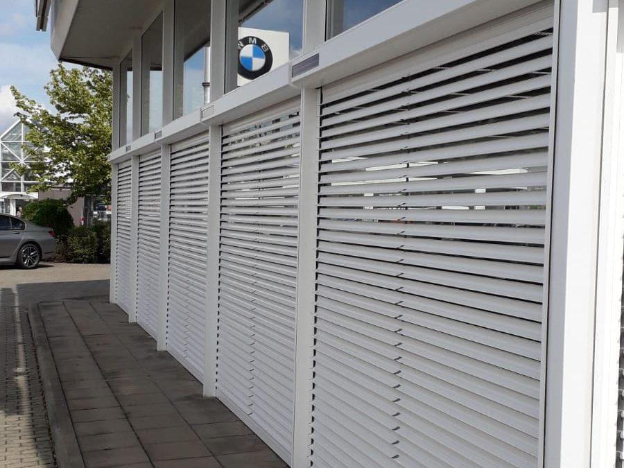 Bubendorff Solarrollladen für BMW Wernecke in Cottbus