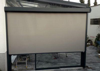 Solarlux Terrassendach Seitenmarkise